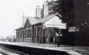 Clowne Barlborough Railway Station